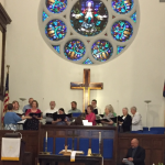 Clinton 1st UMC Choir on Easter Sunday